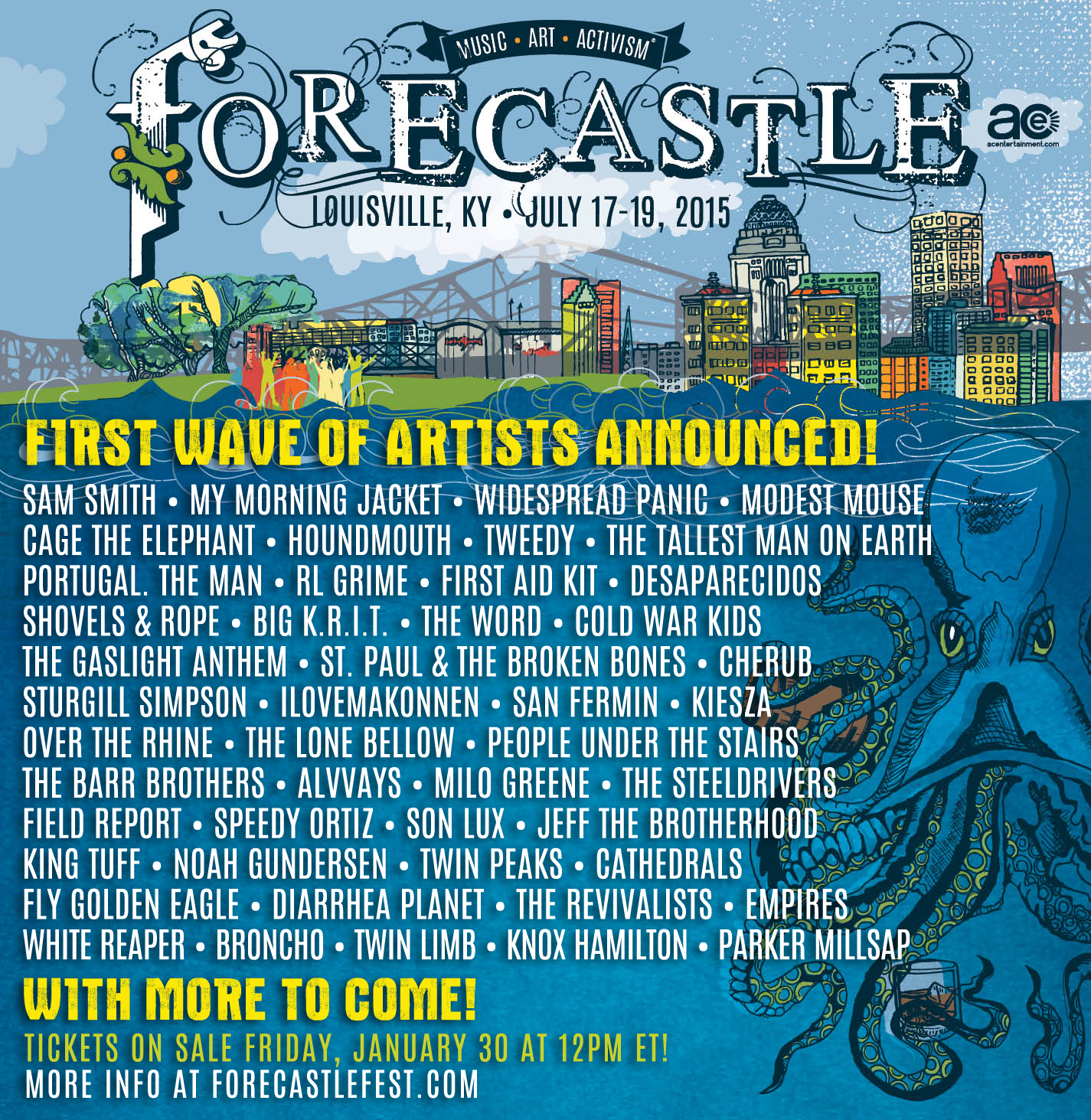 Forecastle Festival Lineup Announcement